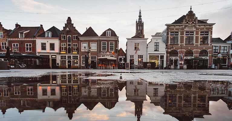 Deutsch Niederländisch - Foto Spiegelung