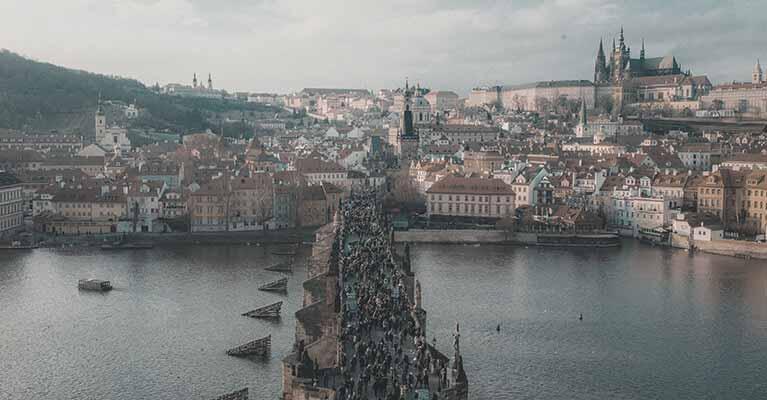 Deutsch Tschechisch - Foto Prag