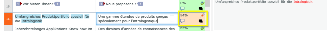 do not confirm changed segment in memQWebTrans